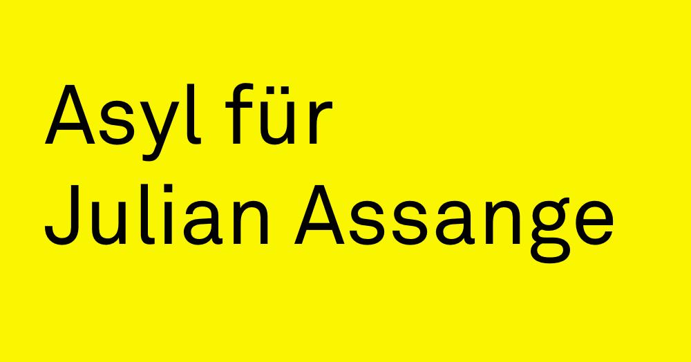 Asyl für Julian Assange